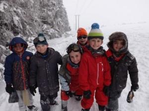 classe de neige lundi 4