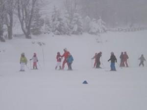 classe de neige mercredi 1
